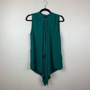H&M green blouse size 8